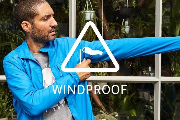 Brompton City Apparel - Windproof key feature